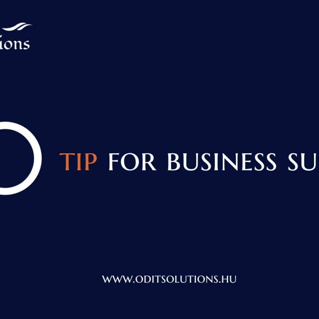 Contact, OD & IT Solutions - 10 tip for business